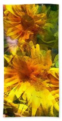 Sunflower 6 Beach Towel