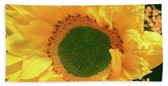 Sunflower Art Beach Sheet