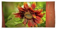 Sunflower #g5 Beach Sheet