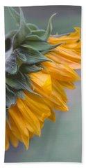 Sunflower Haze Beach Towel