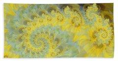 Sunflower Infused Beach Towel