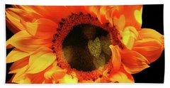 Sunflower Passion Beach Sheet