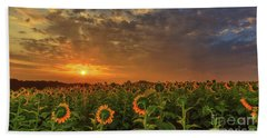 Sunflower Peak Beach Towel