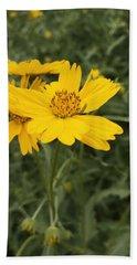 Sunflower Sanctuary  Beach Towel