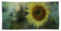 Sunflower Sea Beach Sheet