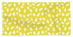 Sunflower Seeds- Art By Linda Woods Beach Towel