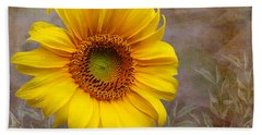 Sunflower Serenade Beach Towel