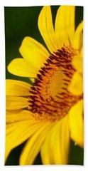 Sunflower Side Light Beach Sheet
