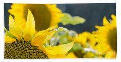 Sunflowers 14 Beach Sheet