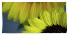Sunflowery Beach Towel