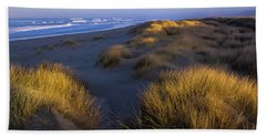 Sunlight On The Beach Grass Beach Sheet