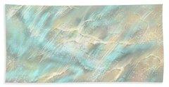 Sunlight On Water Beach Towel by Amyla Silverflame