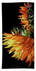 Sunlit Sunflowers Beach Towel