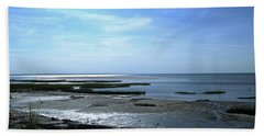 Sunlit Tide Pools Beach Towel