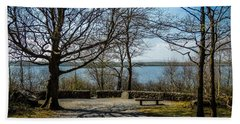 Sunny Afternoon At Lough Coole Beach Towel