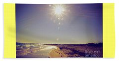 Sunny Day Beach Towel by Cassandra Buckley