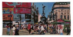 Sunny Piccadilly Beach Towel