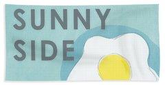 Sunny Side Beach Towel