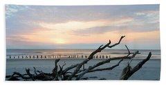 Sunrise @ Pea Island Beach Sheet