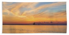 Beach Sheet featuring the photograph Sunrise And Splendor by Bill Pevlor