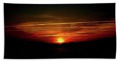 Sunrise Art  Beach Towel