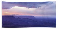 Beach Towel featuring the photograph Sunrise At Canyonlands by Marie Leslie