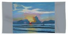 Sunrise At Cape Canaveral Beach Beach Towel