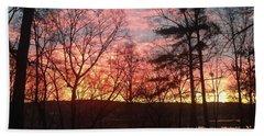 Sunrise At Carolina Trace Beach Towel