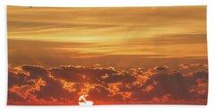 Sunrise At Cheyenne Bottoms 02 Beach Sheet