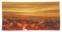 Sunrise At Cheyenne Bottoms 02 Beach Towel