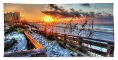 Sunrise At Cotton Bayou  Beach Towel