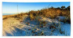 Dawn At Manasota Beach Beach Towel