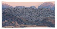 Sunrise At Mirador De Ronda Beach Towel