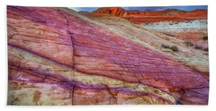 Beach Sheet featuring the photograph Sunrise At Rainbow Rock by Darren White