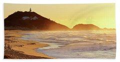 Sunrise At Sugarloaf Point Beach Towel