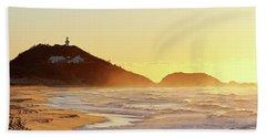 Sunrise At Sugarloaf Point Beach Towel