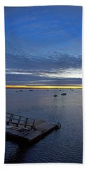 Sunrise At The Barnstable Yacht Club Beach Towel