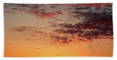 Sunrise At Treasure Island Beach Towel by RC Pics