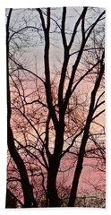 Sunrise Branches Beach Sheet