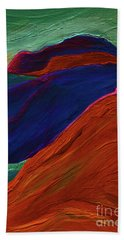 Beach Towel featuring the painting Sunrise Castle 2  by First Star Art