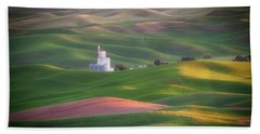 Sunrise From Steptoe Butte. Beach Towel