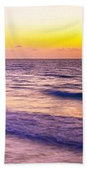 Sunrise In Cancun Beach Towel