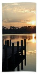 Sunrise In Grayton Beach II Beach Towel