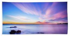 Sunrise In La Mata Beach Towel