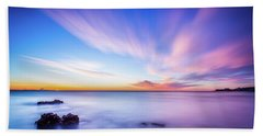 Sunrise In La Mata Beach Sheet