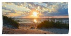 Sunrise In South Nags Head Beach Towel