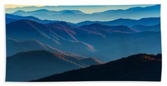 Sunrise In The Smokies Beach Towel