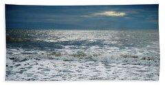 Sunrise-kennebunk Beach Beach Towel