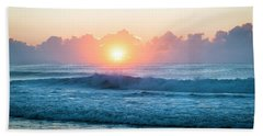 Beach Towel featuring the photograph Sunrise by Lana Enderle