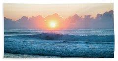 Sunrise Beach Towel by Lana Enderle